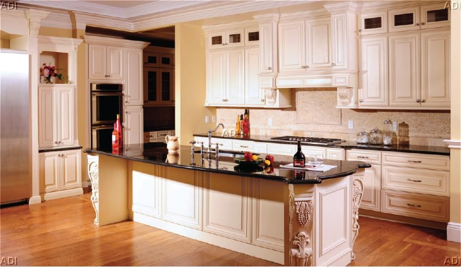 White Kitchen Island Base Cabinets Oven Cabinets Stacked Cabinets