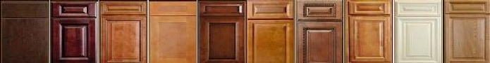 rta kitchen cabinet door styles and color stains