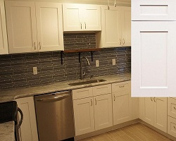 arctic white kitchen cabinets