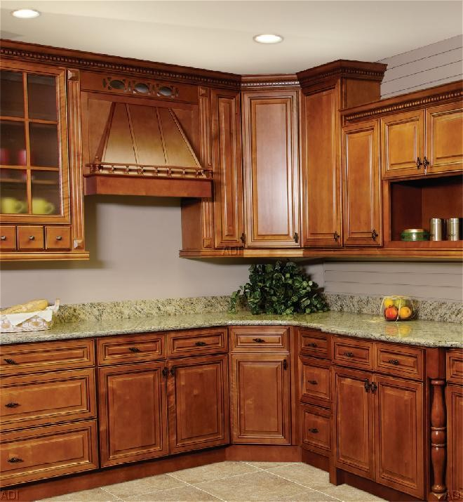 Solid Maple Wood RTA Kitchen Cabinets Part 21