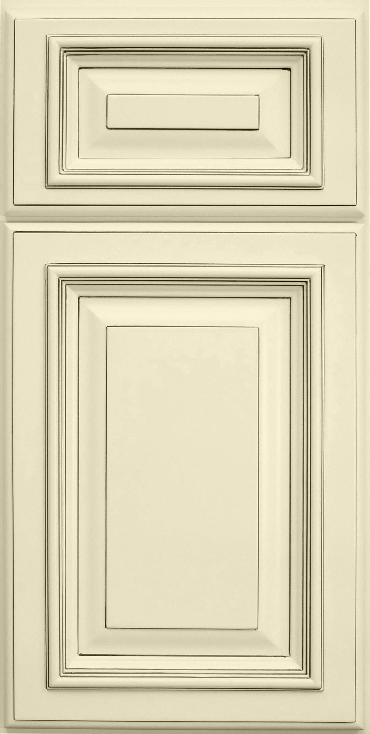 white painted rta cabinet see (knock off) for better price