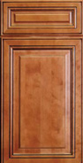 mitered corners - full overlay  w 5 piece drawer head