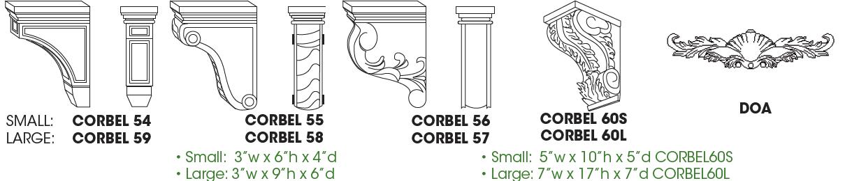 Corbels