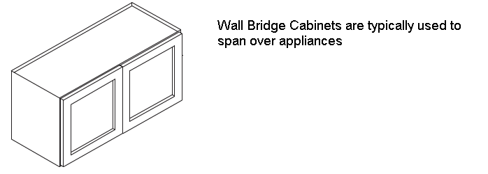 Wall Bridge Cabinets