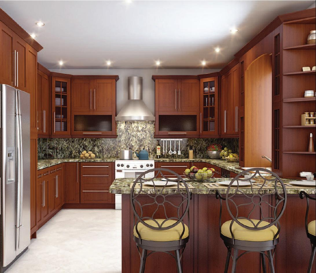 10x10 Kitchen Layout Ideas: Cabinet Selection At The RTA Cabinet Mall