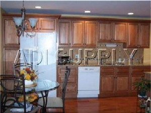 Carson Cherry wall and base Kitchen Cabinets