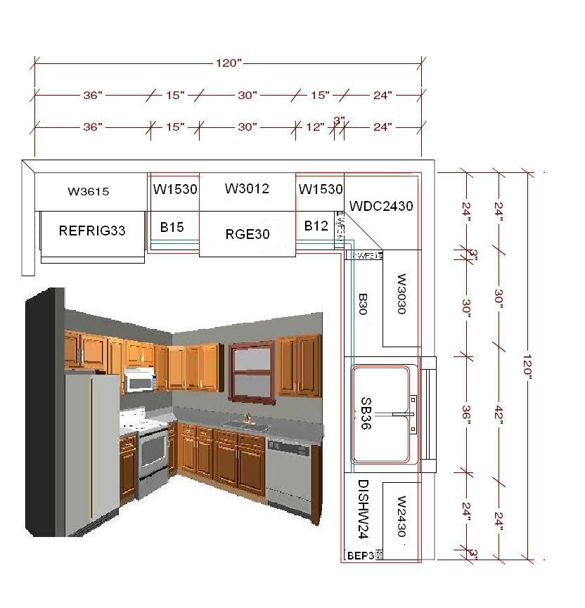 10x10 Small Kitchen Layout The House Decorating